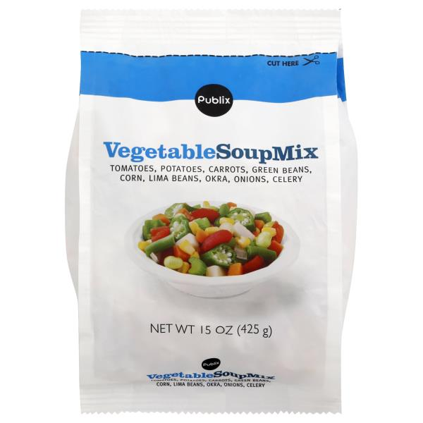Publix Soup Mix, Vegetable