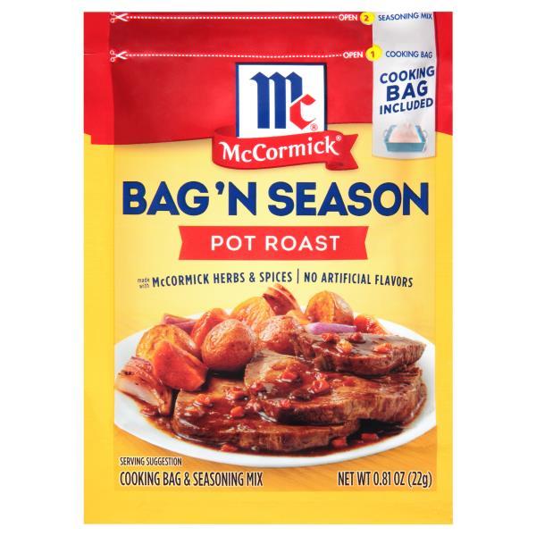 Mccormick Bag N Season Cooking Seasoning Mix Pot Roast