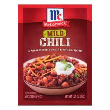McCormick Seasoning Mix, Chili, Mild