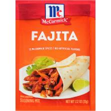 McCormick Seasoning Mix, Fajita
