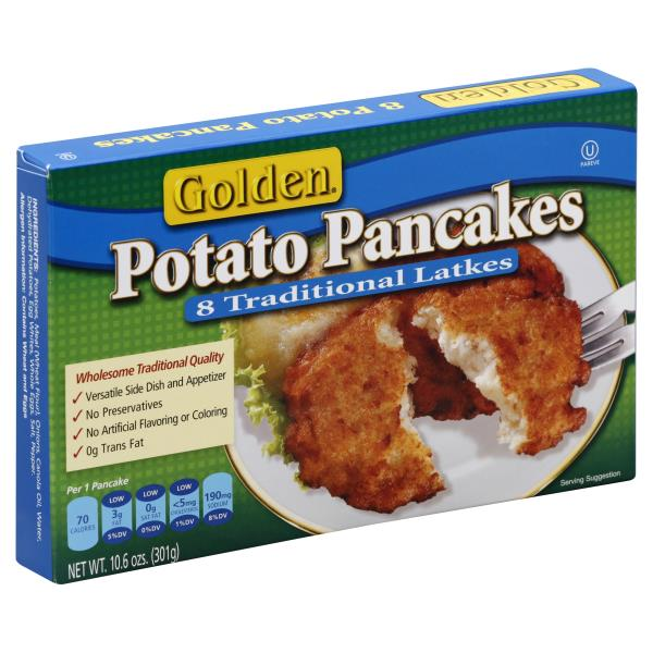 Golden Pancakes, Potato