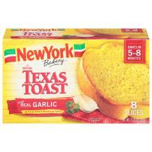 New York Texas Toast, with Real Garlic