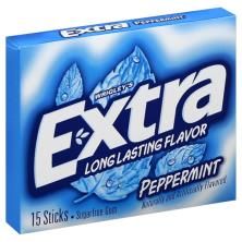 Extra Gum, Sugarfree, Peppermint