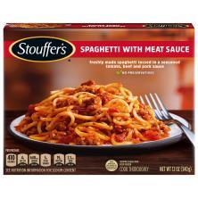 Stouffers Classics Spaghetti, with Meat Sauce