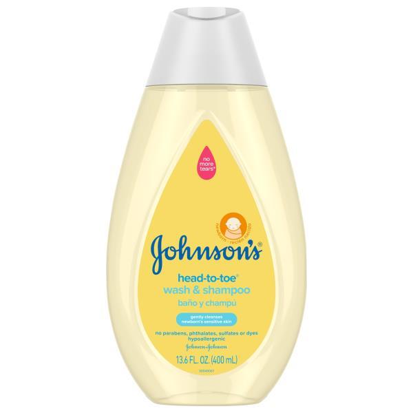 Johnsons Head-to-Toe Baby Wash