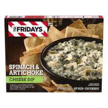 TGI Fridays Cheese Dip, Spinach & Artichoke, Snack Size