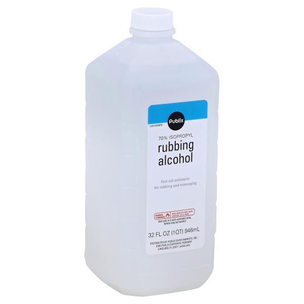 Publix Rubbing Alcohol, 70% Isopropyl : Publix com