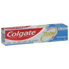Colgate Total Toothpaste, Anticavity Fluoride and Antigingivitis, Whitening, Gel