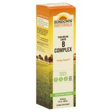 Sundown Naturals B Complex, Sublingual Liquid