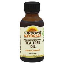 Sundown Naturals Tea Tree Oil, Pharmaceutical Grade
