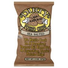 Dirty Potato Chips, Sea Salted