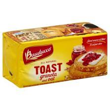 Bauducco Toast, Granola and Oat