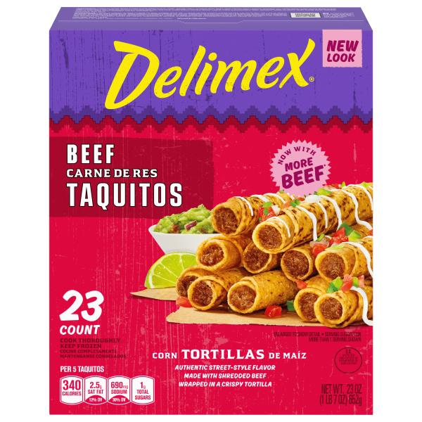 Delimex Taquitos, Beef