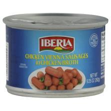 Iberia Vienna Sausages, in Chicken Broth, Chicken