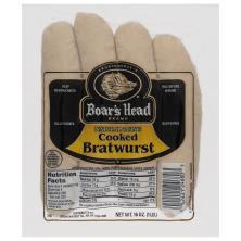 Boars Head Bratwurst, Cooked
