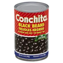 Conchita Black Beans, in Water and Salt