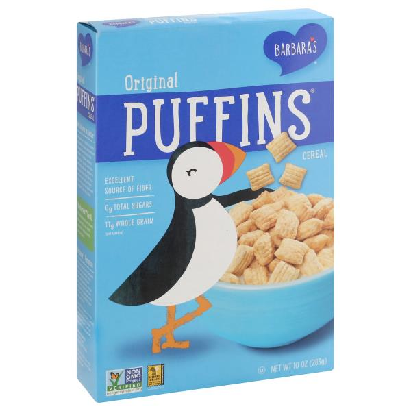 Barbaras Puffins Cereal, Original : Publix.com