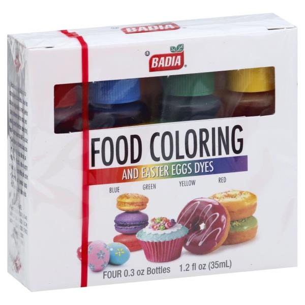 Badia Food Coloring, and Easter Eggs Dyes : Publix.com