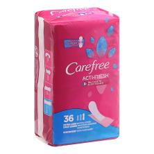 Carefree Acti-Fresh Body Shape Liners, to Go, Extra Long, Unscented