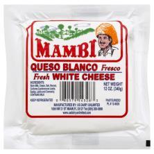 Mambi Cheese, Fresh, White