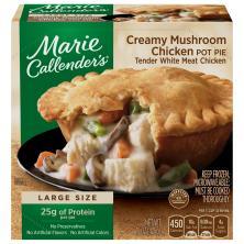 Marie Callenders Pot Pie, Creamy Mushroom Chicken
