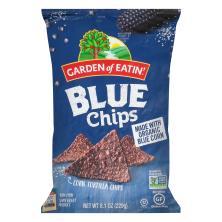 Garden of Eatin Tortilla Chips, Corn, Blue Chips