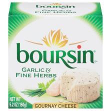 Boursin Cheese, Gournay, Garlic & Fine Herbs