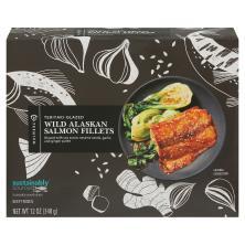 Publix Premium Salmon Fillets, Teriyaki-Glazed, Frozen, Wild
