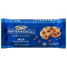 Ghirardelli Baking Chips, Premium, Milk Chocolate
