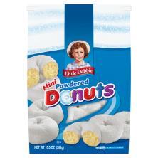 Little Debbie Donuts, Powdered, Mini