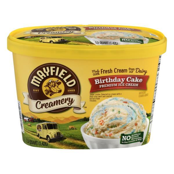 Mayfield Creamery Ice Cream Premium Birthday Cake Publix