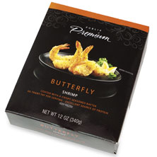 Publix Premium Breaded Shrimp, Butterfly, Frozen, Farm Raised
