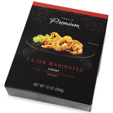 Publix Premium Marinated Shrimp, Cajun, Frozen, Farm Raised