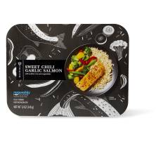 Publix Premium Chili Garlic Salmon, with Rice&Vegetables, Microwave, Ready Inminutes