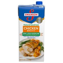 Swanson Natural Goodness Broth, Chicken