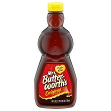 Mrs Butterworths Syrup, Original