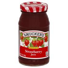 Smuckers Jam, Strawberry, Seedless