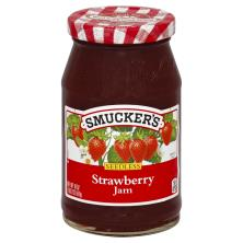 Smuckers Jam, Strawberry, Seedless