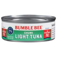 Bumble Bee Tuna, Premium, Chunk, Light