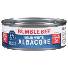 Bumble Bee Tuna, Solid White Albacore, in Vegetable Oil