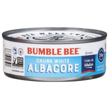 Bumble Bee Tuna, Chunk White Albacore, in Water