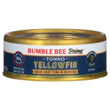 Bumble Bee Prime Fillet Tuna, Solid Light, Tonno in Olive Oil