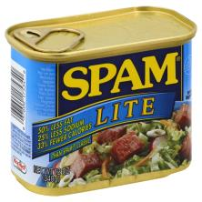 Spam Canned Meat Product, Lite