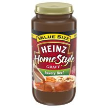 Heinz HomeStyle Gravy, Savory Beef, Value Size