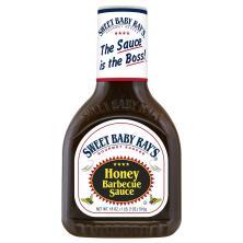 Sweet Baby Rays Barbecue Sauce, Honey