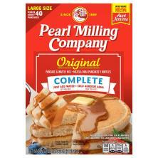 Aunt Jemima Pancake & Waffle Mix, Complete, Original