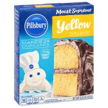 Pillsbury Moist Supreme Cake Mix, Premium, Yellow