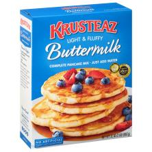Krusteaz Pancake Mix, Complete, Buttermilk