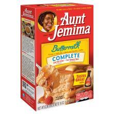 Aunt Jemima Pancake & Waffle Mix, Complete, Buttermilk