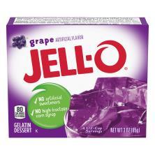 Jell O Gelatin Dessert, Grape